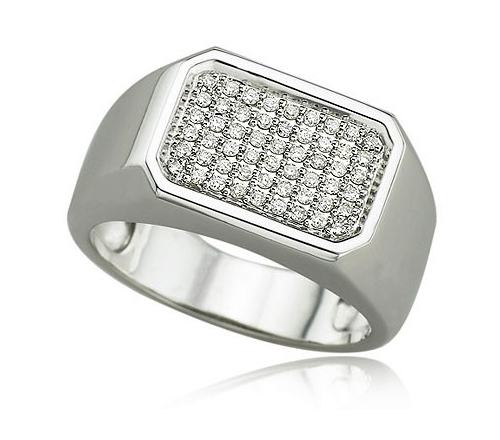 Platinum Mens Jewelry