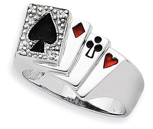 Mens White Gold Rings Make Great Gifts